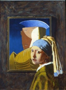 Girl Before a Mirror (Picasso/Vermeer)