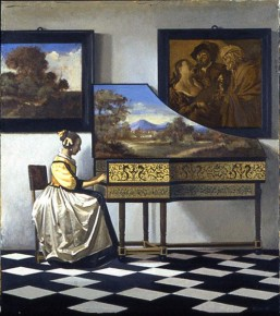Vermeer's Concert with Two Figures Removed