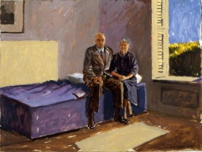 Edward and Jo Hopper (Study)