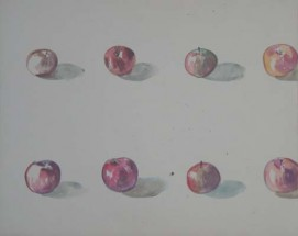 Hudson River School 1 (Study Reverse: Eight Apples)