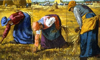 Millet's Gleaners
