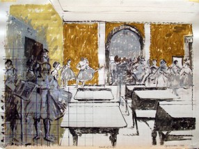 School of Degas (Study)