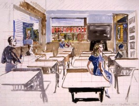 School of Hopper (Study)