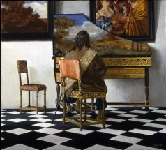 Vermeer's Concert with Two Figures Removed (Number 2)